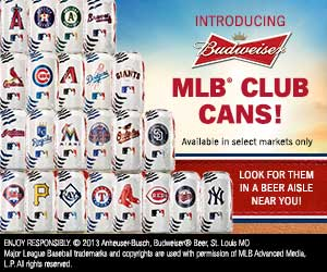 Much like the Mets themselves all MLB Club Cans with the Mets logo on them are flat