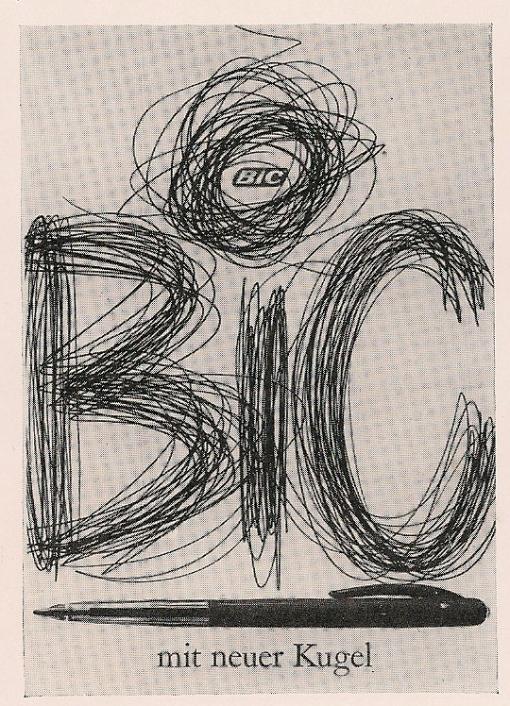 Switzerland, Bic, Ruedi Kulling (artist)