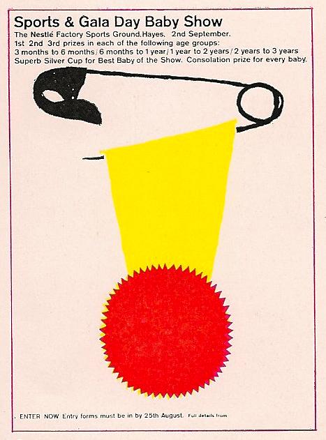 UK, Nestle, Bob Gill (artist)