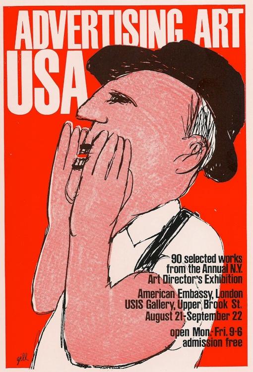 UK, U.S.I.S Gallery, Bob Gill (artist)