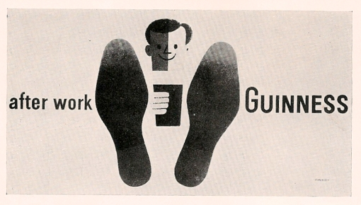 UK, Guinness, Tom Eckersly (artist)