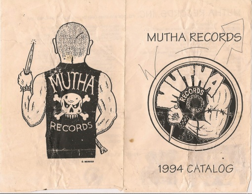 mutha records catalog, outside