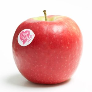Whenever I see Pink Lady apples, I'm reminded of an 1980's variety show called Pink Lady & Jeff. I don't really remember the show but I remember the title was used as a punch line by some late night TV hosts