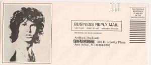 ArtRock, found in a Doors album, envelope