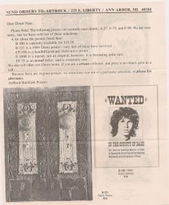 ArtRock, Doors offer, page 2, back