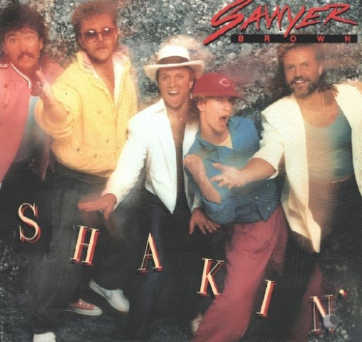 Shakin' from 1985 sets the tone early, hats will play a major role on their album covers